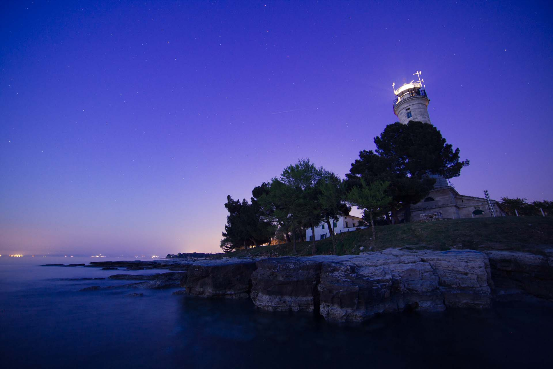 The oldest Croatian lighthouse, in Savudrija near Umag