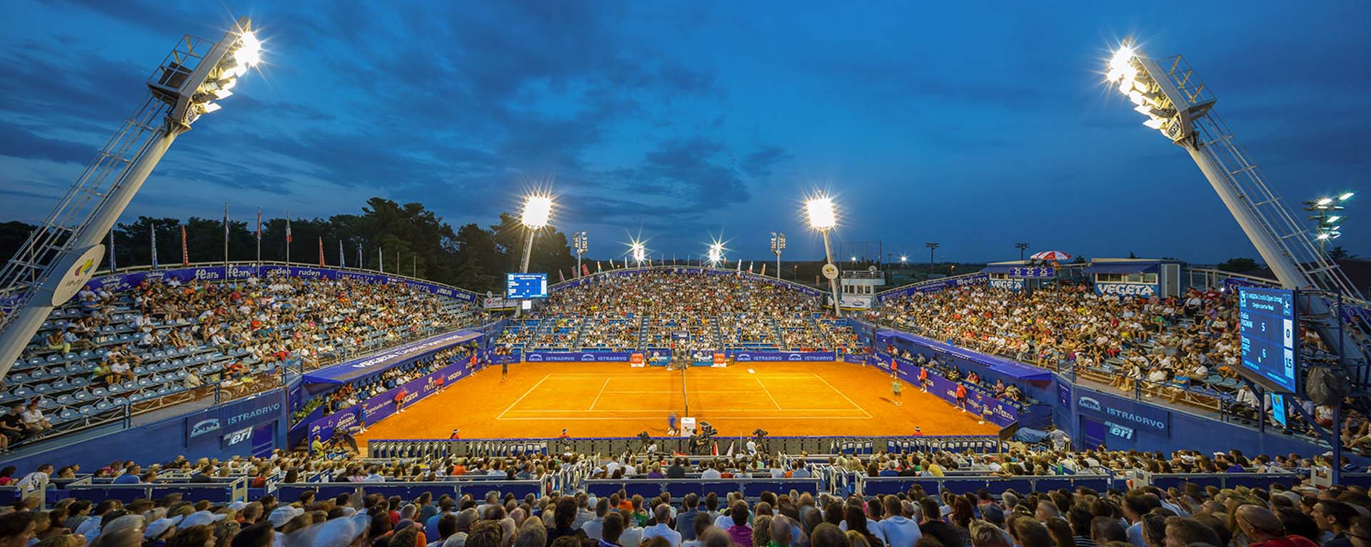 ATP Croatia Open Umag tennis tournament featuring top international players