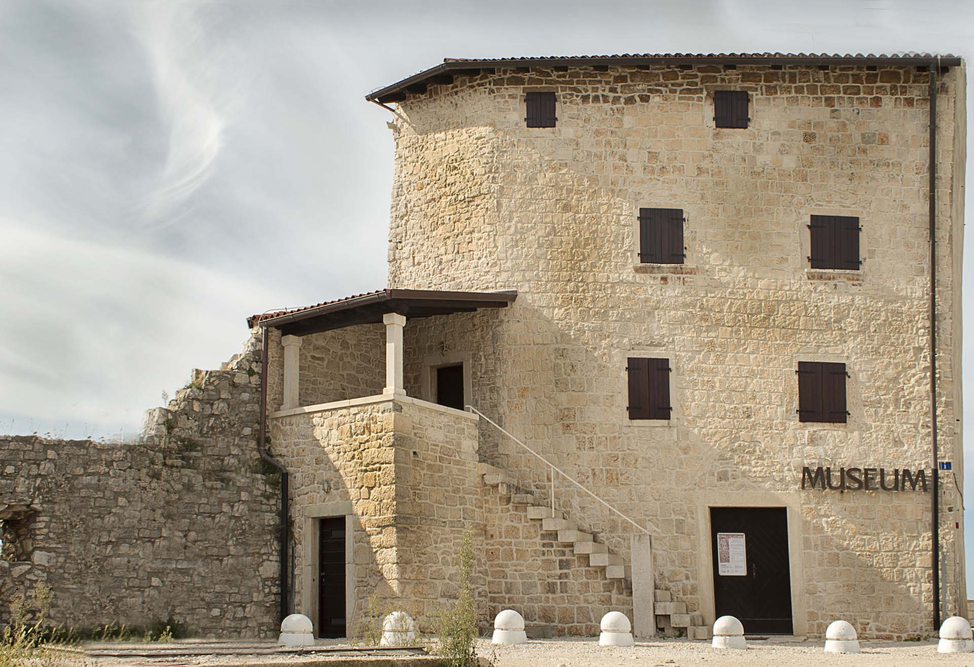 Umag Town Museum with exhibits of ware and old crafts from the Roman period
