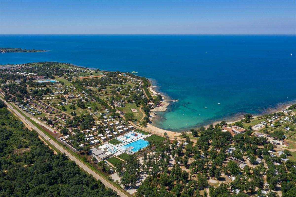 Camping met waterpark in Istrië - Camping Park Umag